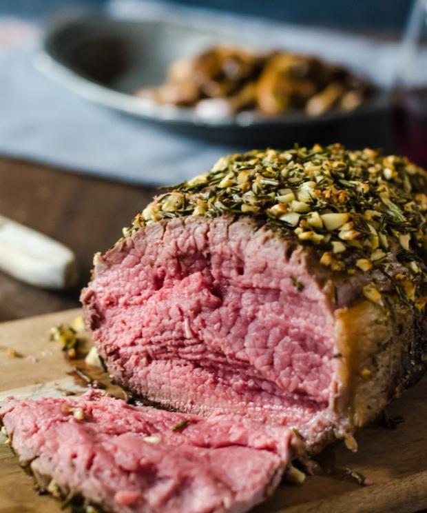 garlic-rosemary-rib-eye-roast-recipe