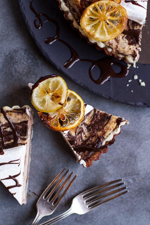 chocolate-fudge-swirled-lemon-ricotta-tart-7