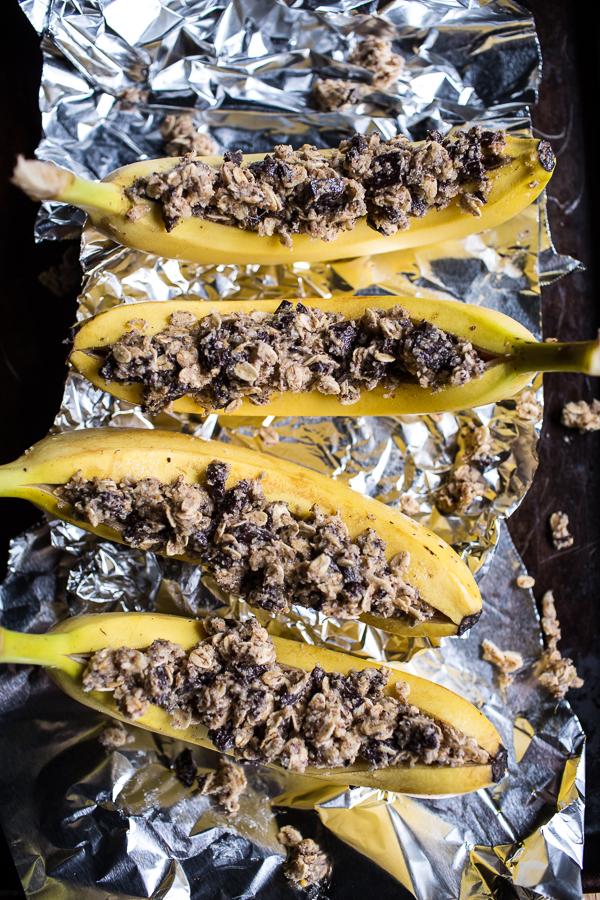oatmeal-chocolate-chunk-cookie-stuffed-campfire-bananas-2