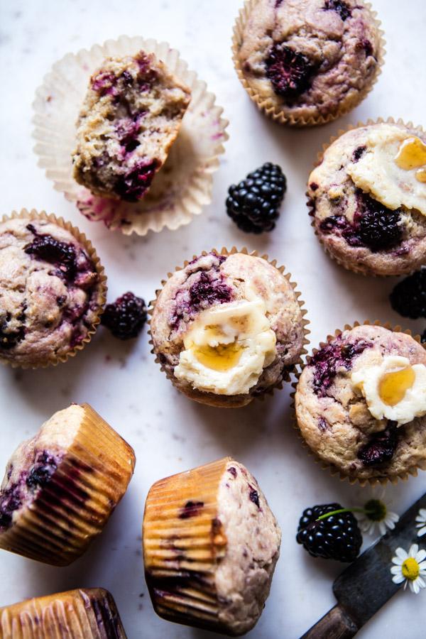 Blackberry-Swirl-Muffins-with-Honey-Butter-6