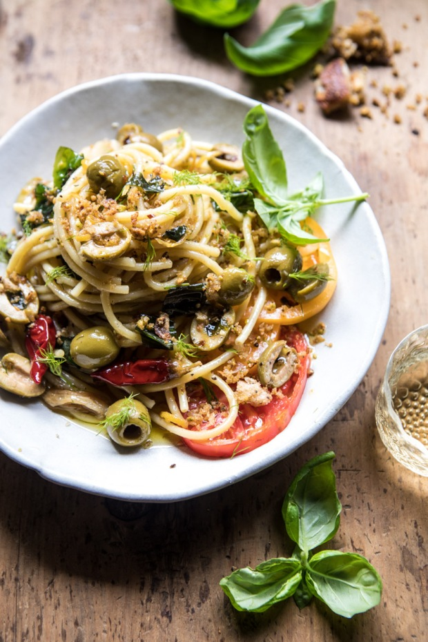 Garden-Fresh-Herb-Olive-and-Parmesan-Pasta-with-Pistachio-Breadcrumbs-1