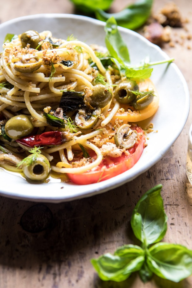 Garden-Fresh-Herb-Olive-and-Parmesan-Pasta-with-Pistachio-Breadcrumbs-5
